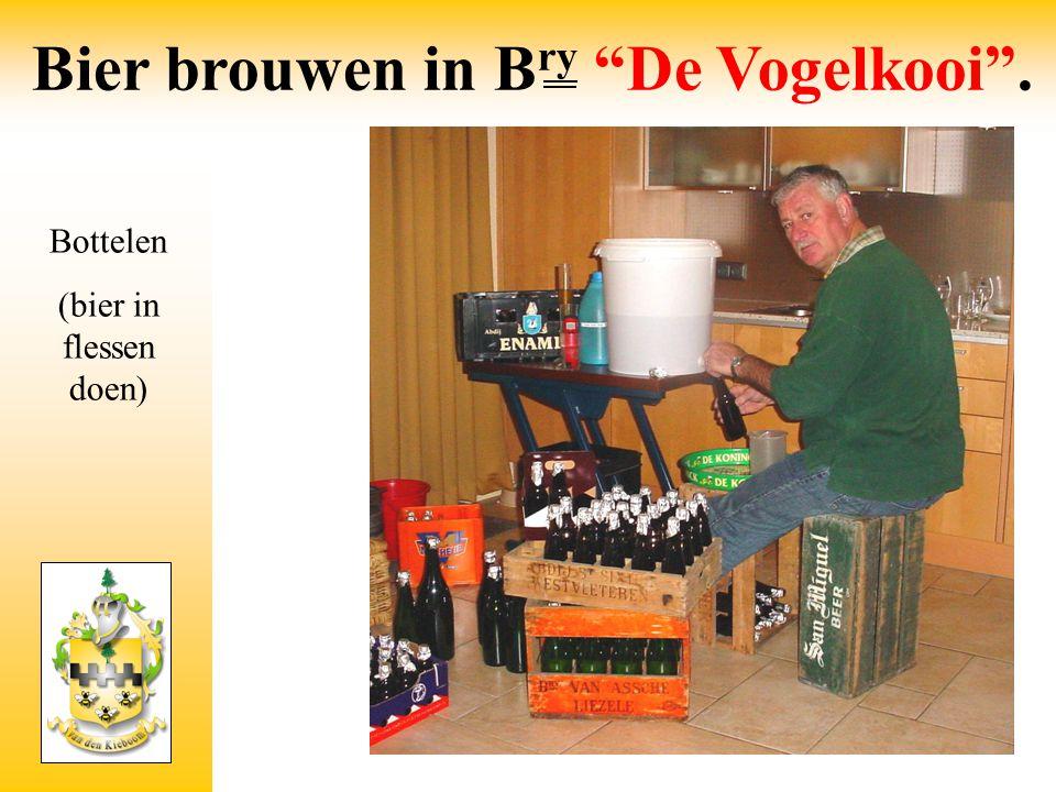 Bottelen (bier in flessen doen)