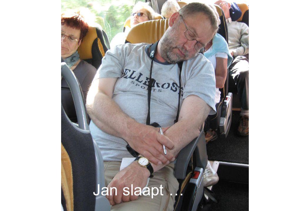 Jan schrijft …