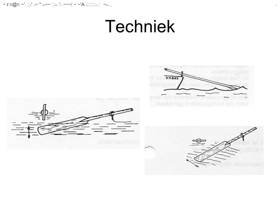 Techniek ~ r:=@= ~ . :;- -~ --~~ ::-- - ~~~/ ~ ~ A -:::::::-.:: ~--,,