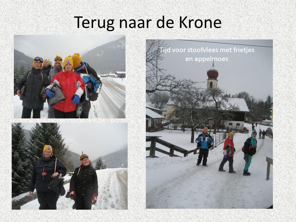 Terug naar de Krone Tijd voor stoofvlees met frietjes en appelmoes