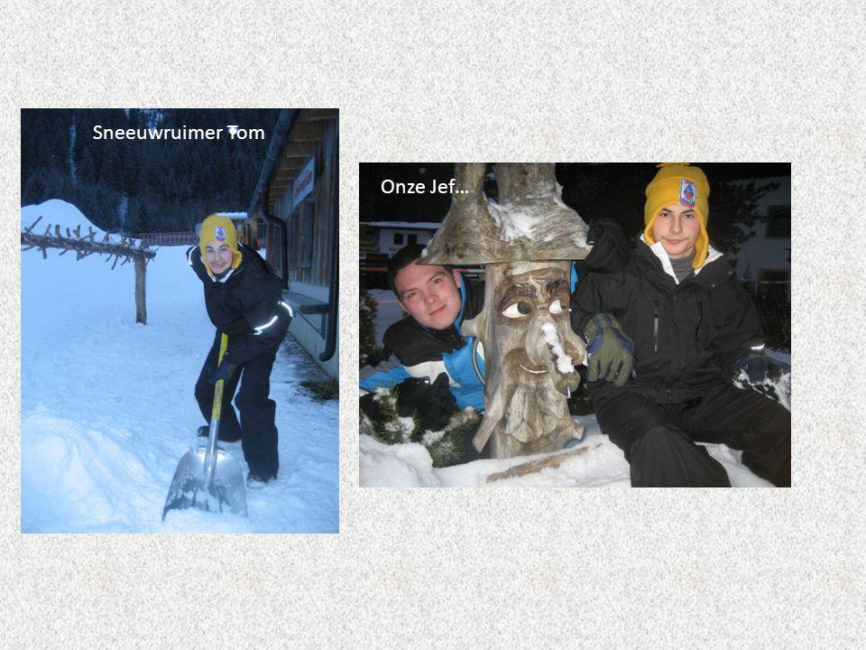 Sneeuwruimer Tom Onze Jef…