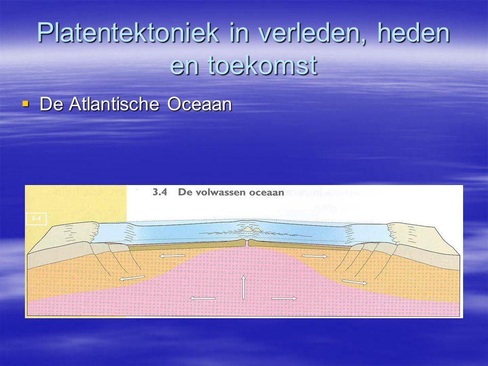 Platentektoniek in verleden, heden en toekomst  De Atlantische Oceaan