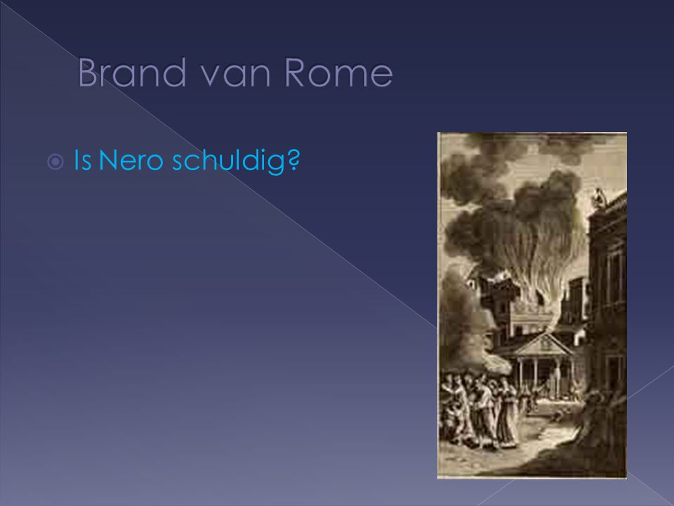  Is Nero schuldig?