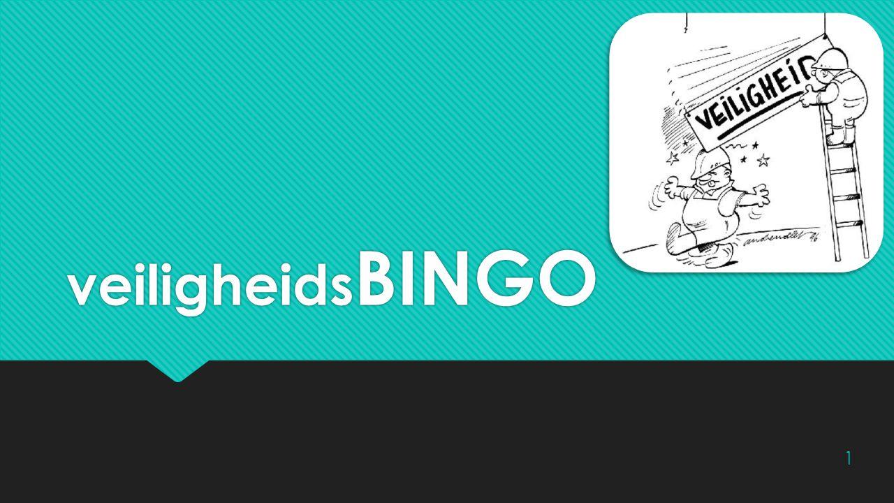 Wat is een bingo.Wat moet ik doen. Wat mag ik niet doen.