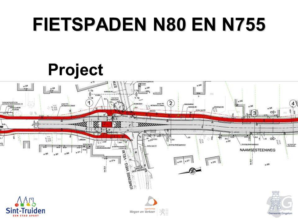 FIETSPADEN N80 EN N755 Project