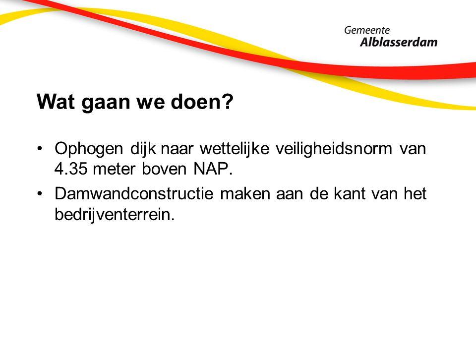 Planning werkzaamheden 2013 Voorlandkering: Aanbrengen steenbekleding: april - juli 2013 Asfalteren fietspad: 2013