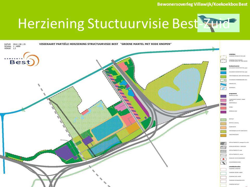 Herziening Stuctuurvisie Best-Zuid Bewonersoverleg Villawijk/Koekoekbos Best