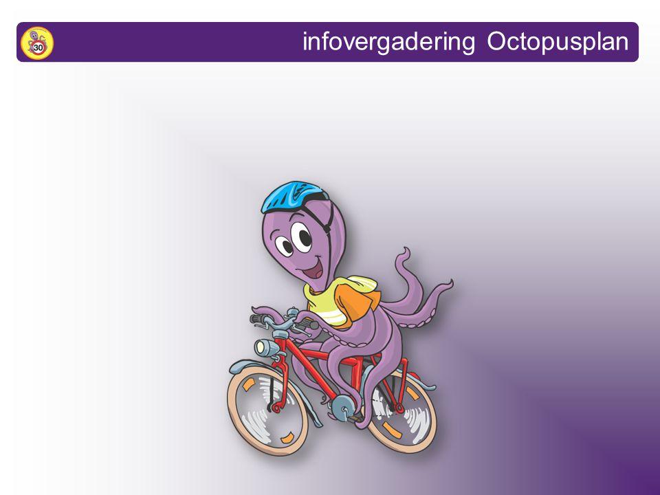 1.Wat is het Octopusplan? 2.Resultaten 3.Interesse om deel te nemen? infovergadering Octopusplan