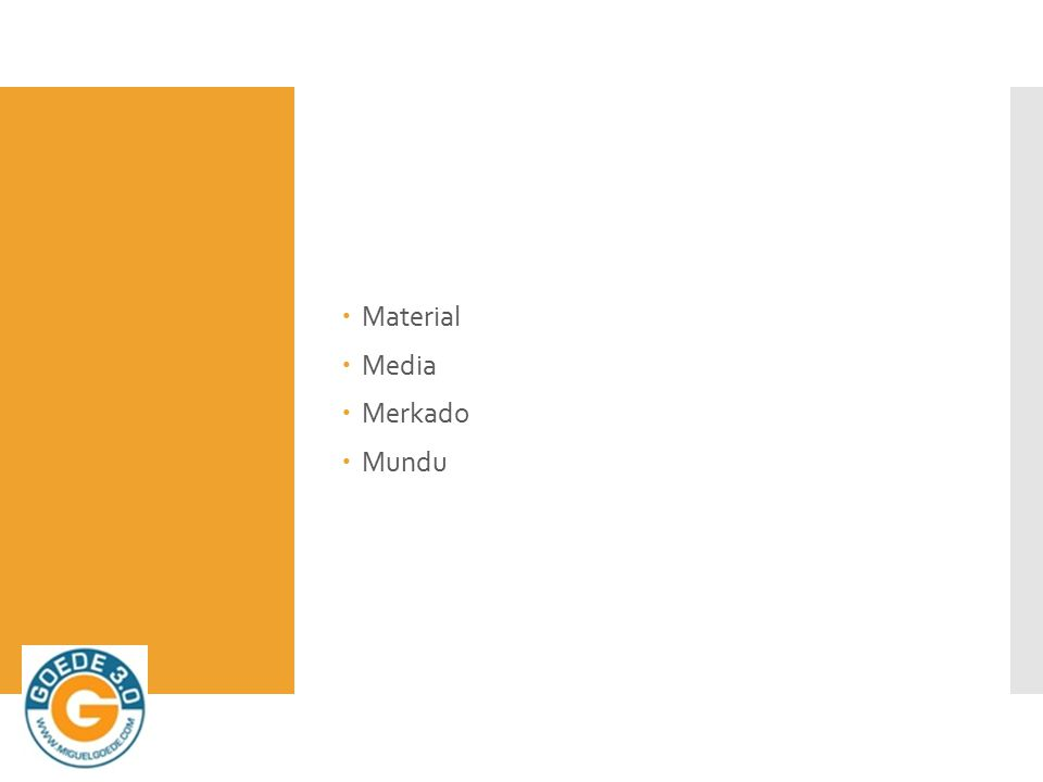  Material  Media  Merkado  Mundu