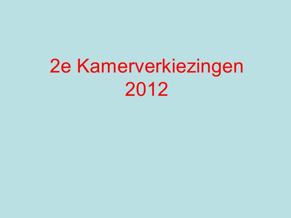 2e Kamerverkiezingen 2012