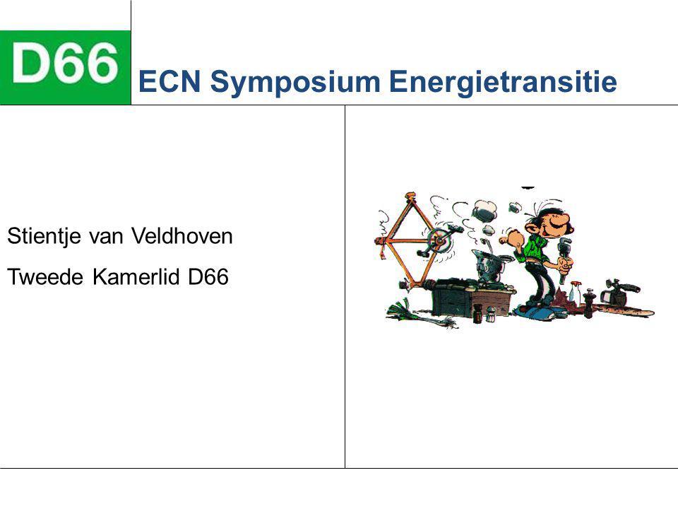 Stientje van Veldhoven Tweede Kamerlid D66 ECN Symposium Energietransitie