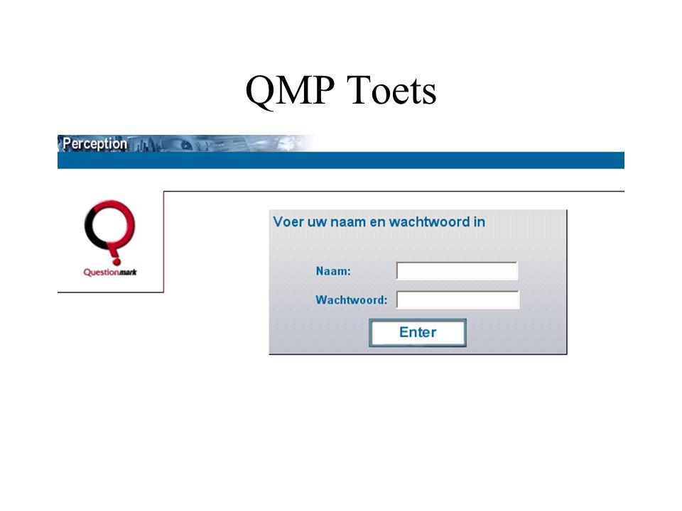 QMP Toets