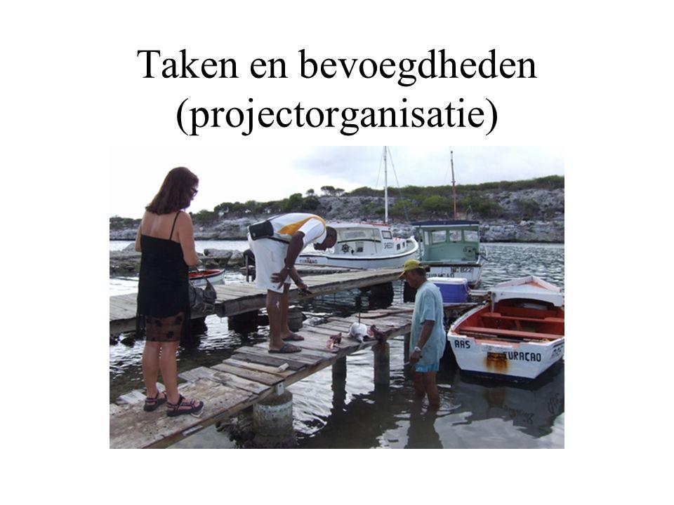 Taken en bevoegdheden (projectorganisatie)
