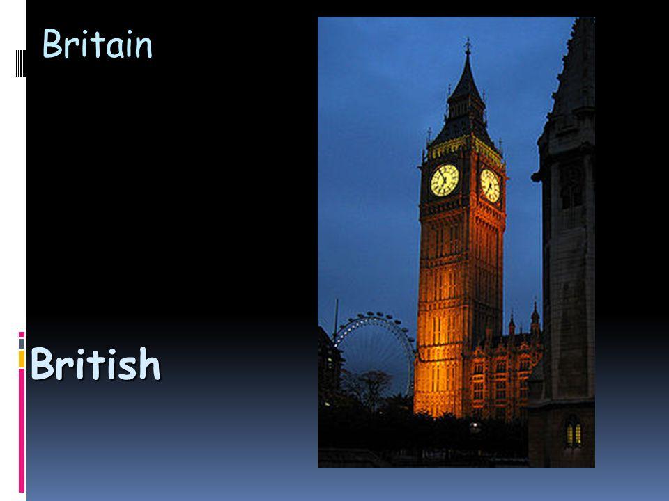 Britain British