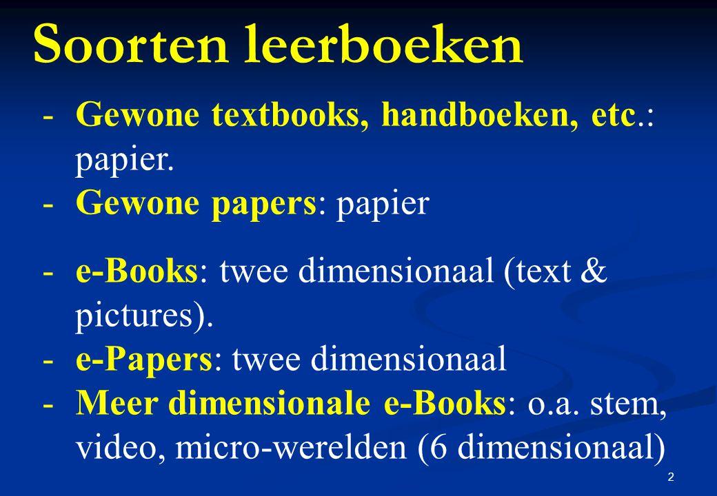 13 e-Paper (!) of i-Paper (?) e-Paper of i-Papere-Paper of i-Paper: online wetenschappelijk artikel uit Journal of Interactive Learning Research, vol.