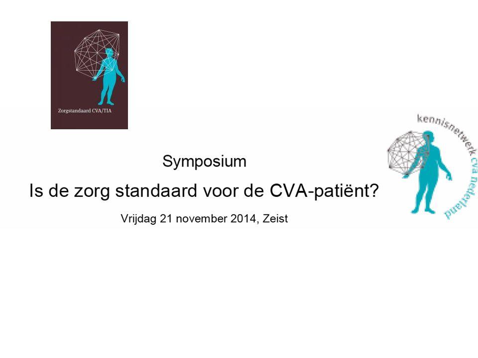 Zorgstandaard CVA/TIA De Zorgstandaard CVA/TIA beschrijft de norm voor goede CVA zorg vanuit patiëntenperspectief.
