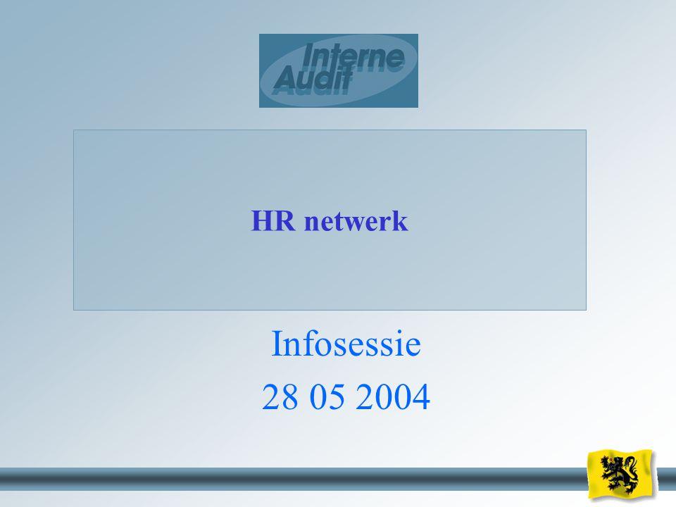 1 HR netwerk Infosessie 28 05 2004