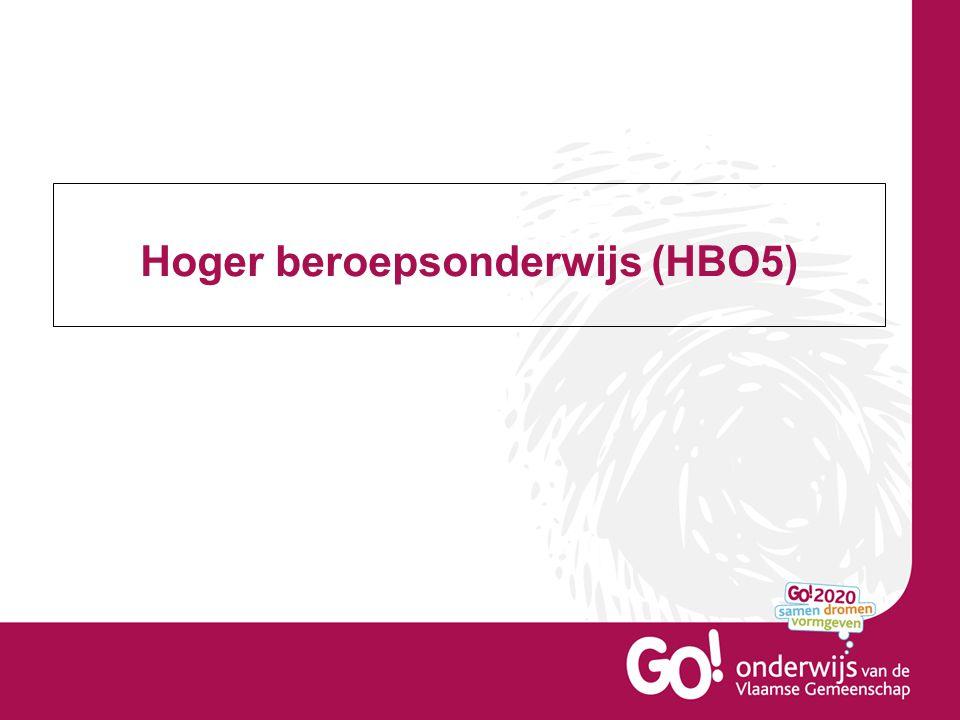 Hoger beroepsonderwijs (HBO5)