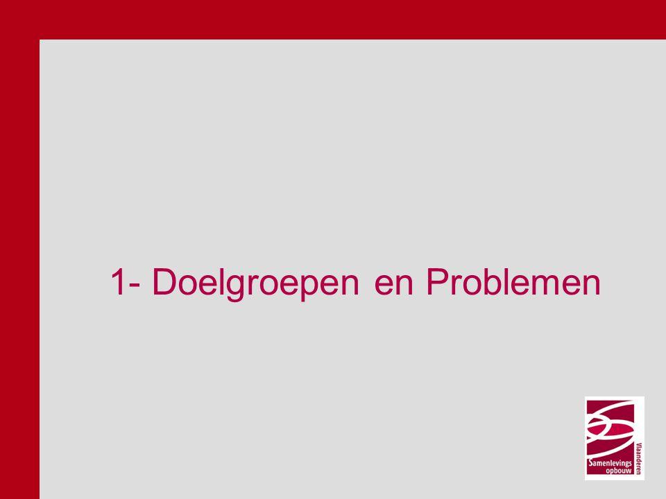 1- Doelgroepen en Problemen