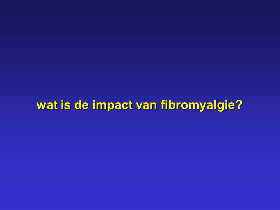 wat is de impact van fibromyalgie?