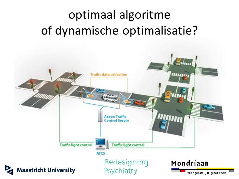 optimaal algoritme of dynamische optimalisatie?