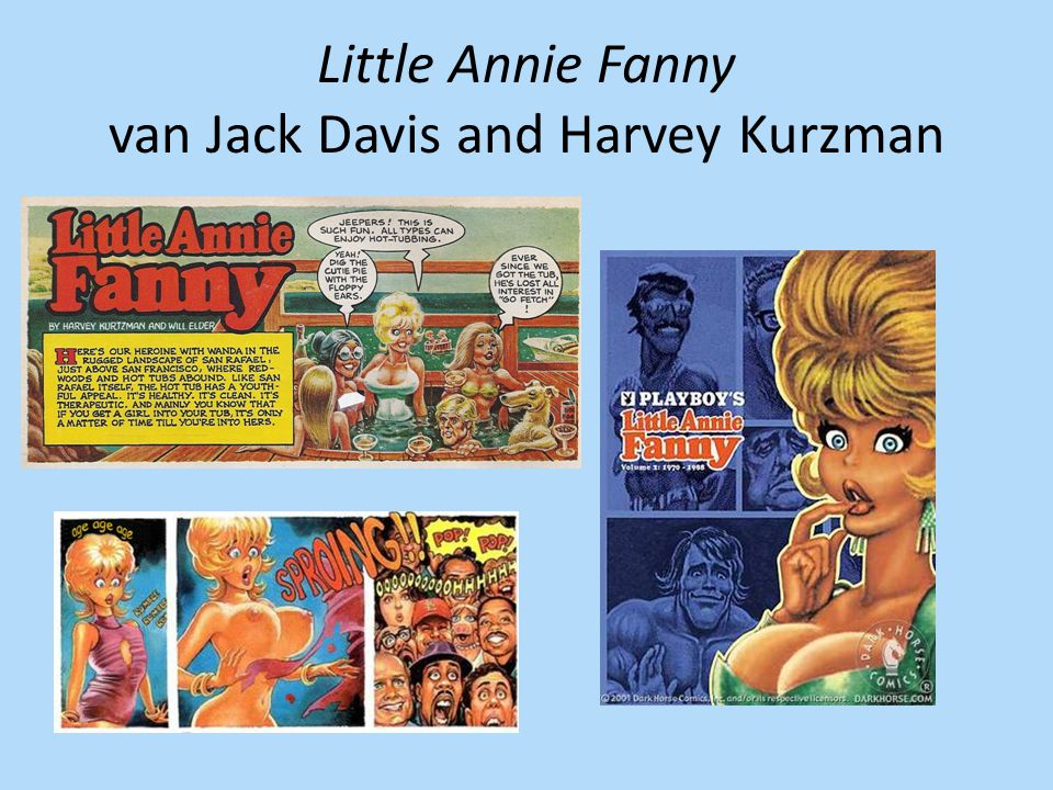 Little Annie Fanny van Jack Davis and Harvey Kurzman