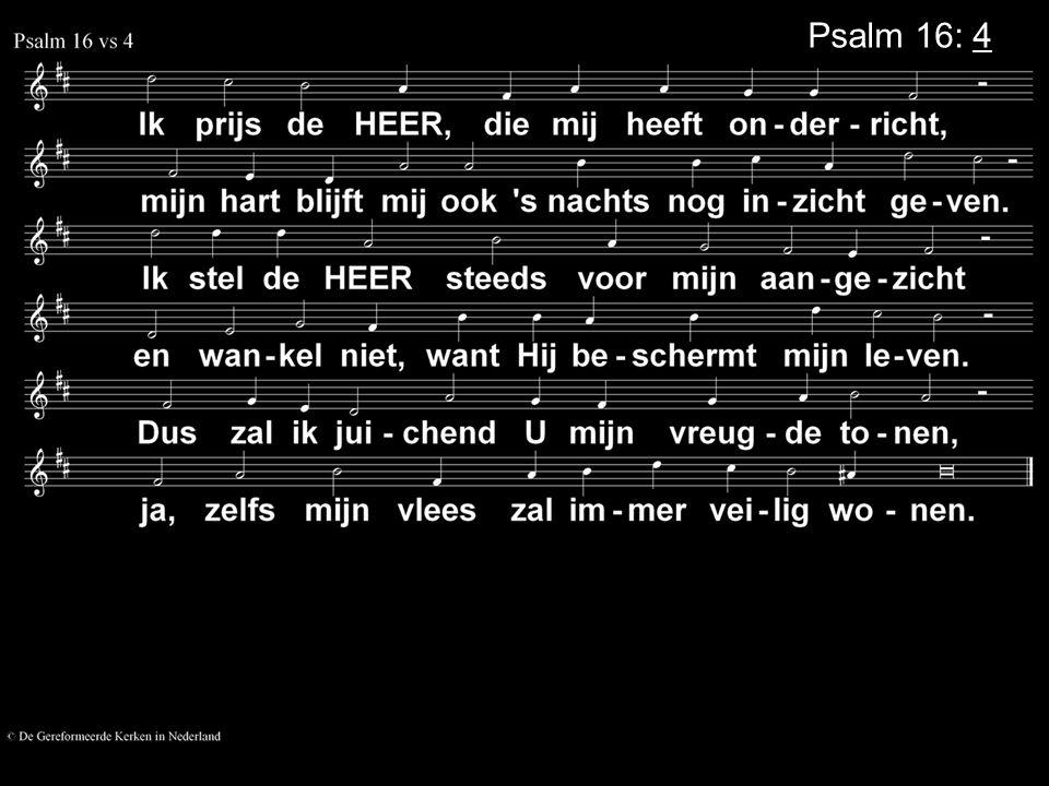 Psalm 16: 4