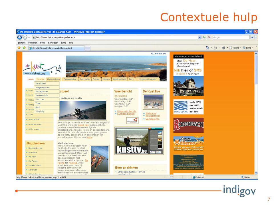 Contextuele hulp 7