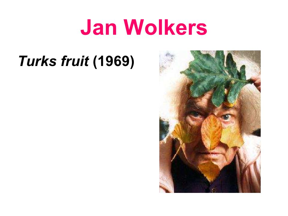 Jan Wolkers Turks fruit (1969)