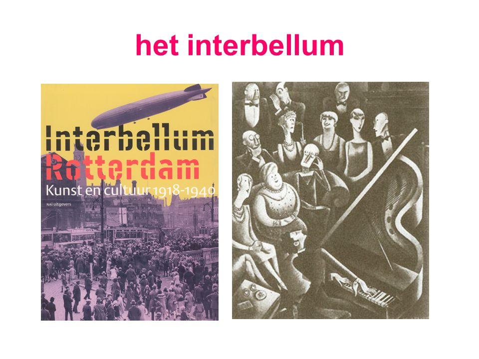 het interbellum
