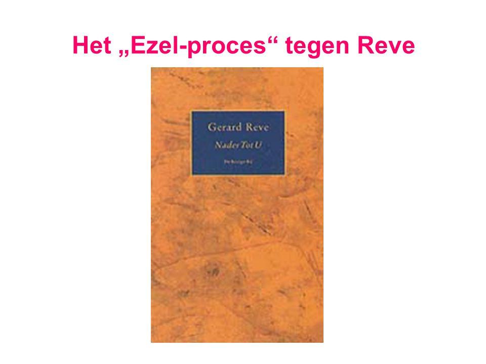 """Het """"Ezel-proces tegen Reve"""