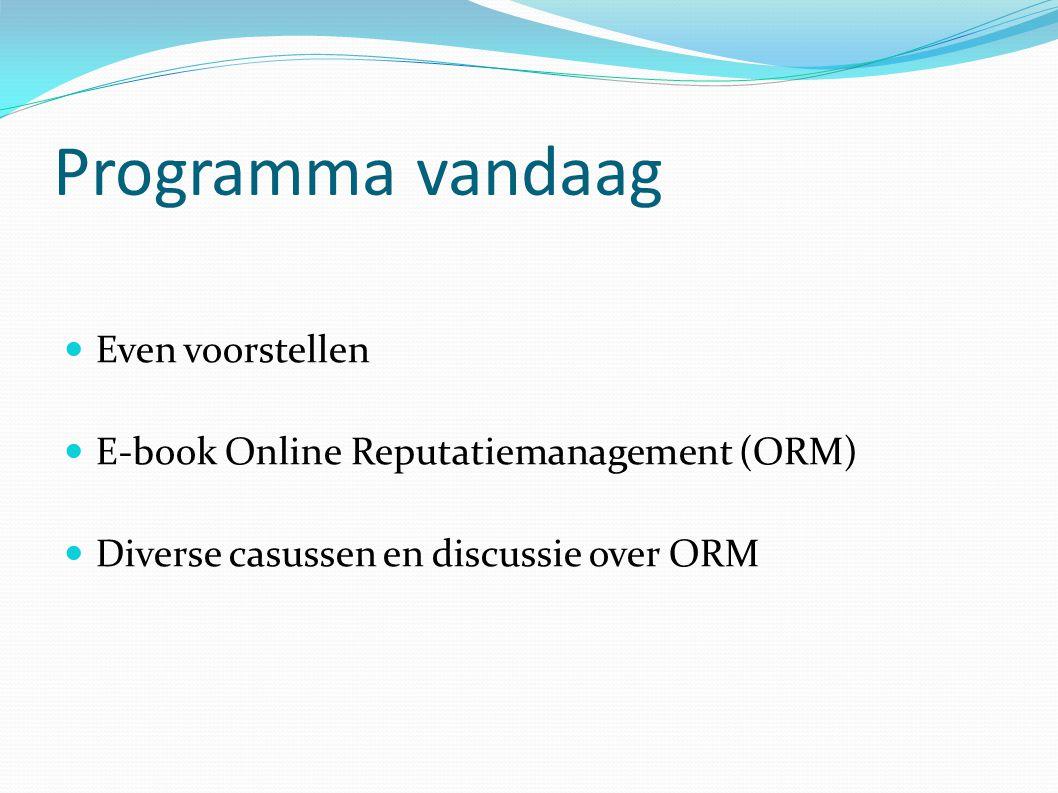2. Participeren in online discussies
