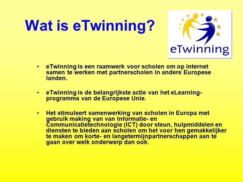 Waarom eTwinning.