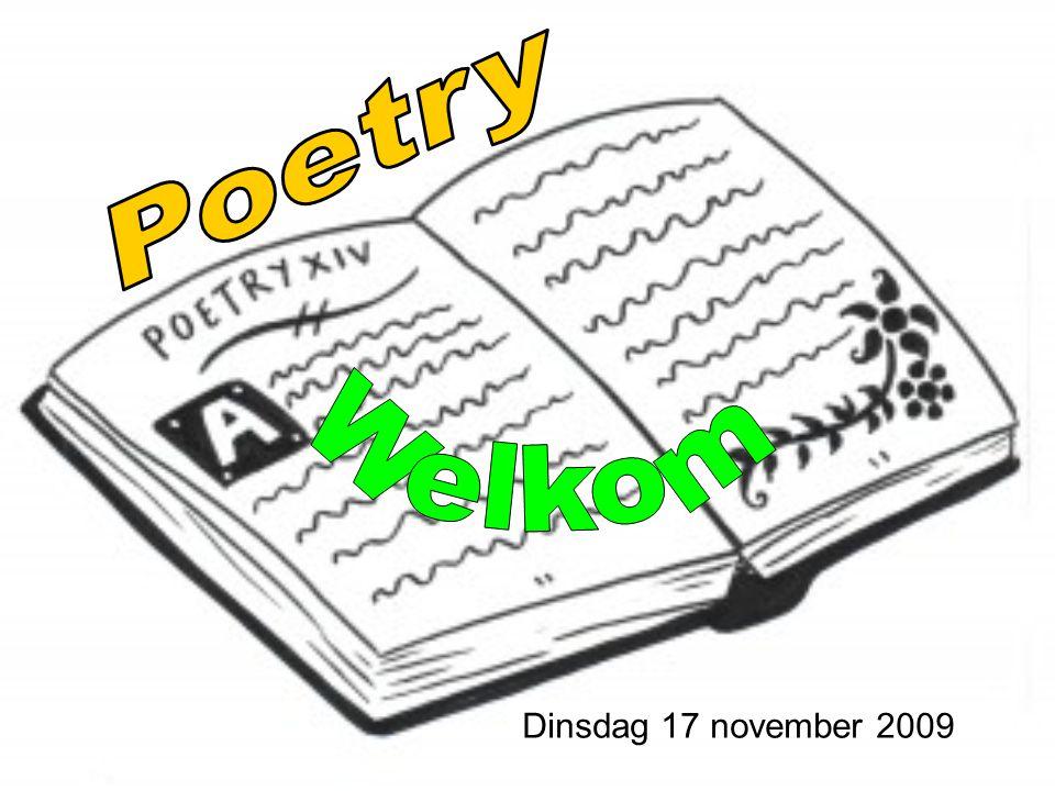 Dinsdag 17 november 2009