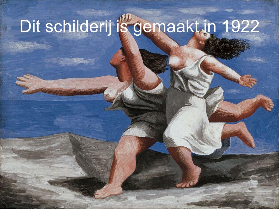 Dit schilderij is gemaakt in 1931
