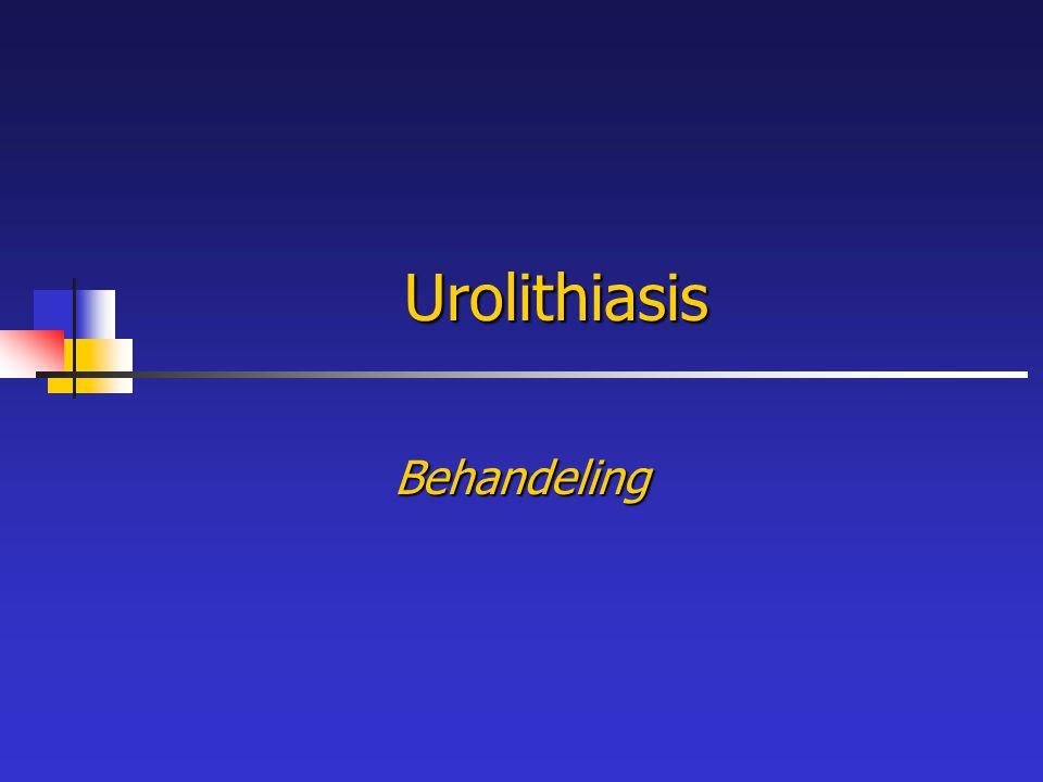 Urolithiasis Behandeling