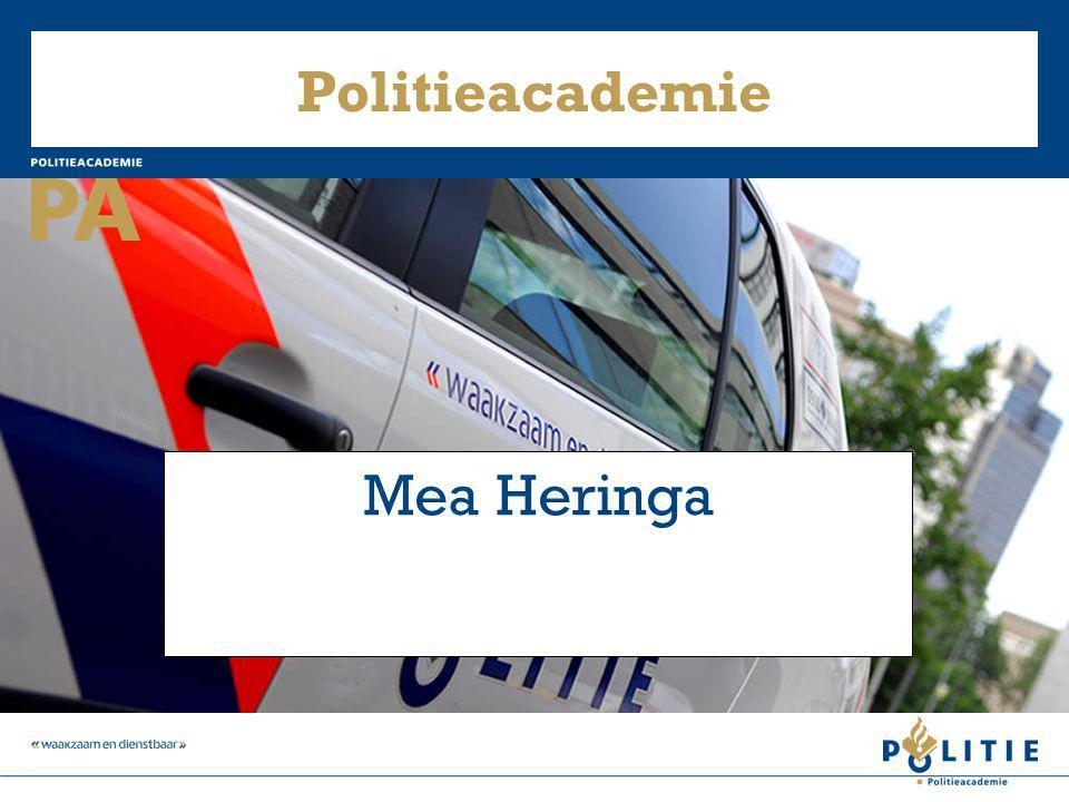 Politieacademie Mea Heringa