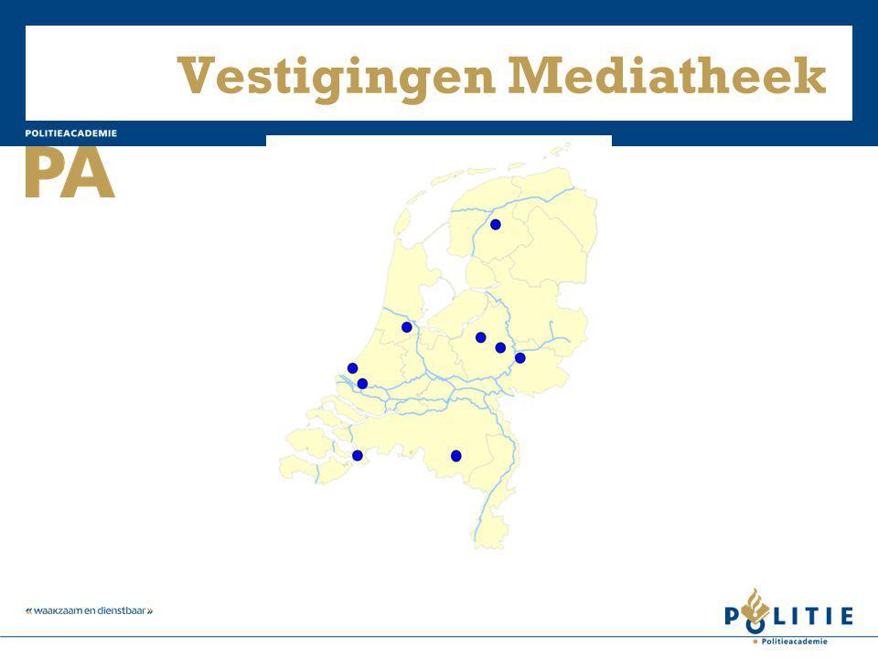 Vestigingen Mediatheek