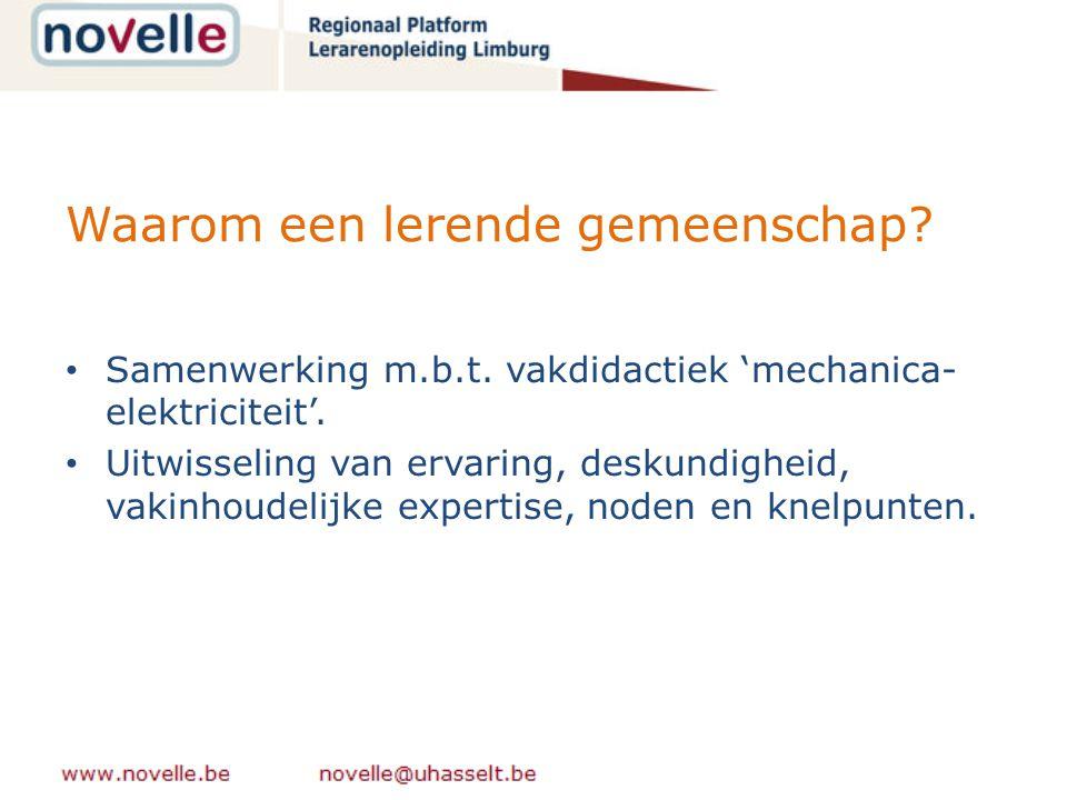 Ontwikkelde website als hulpmiddel? www.nijverheidsdidactiek.be