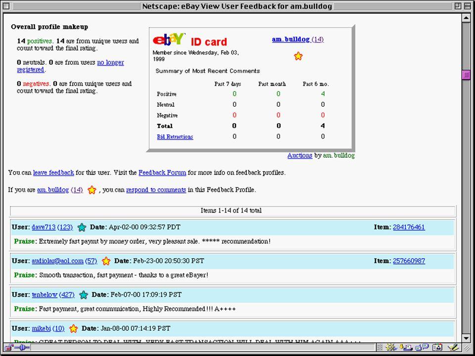 ebay user info