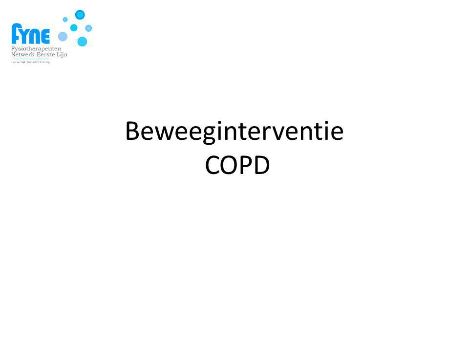 Beweeginterventie COPD