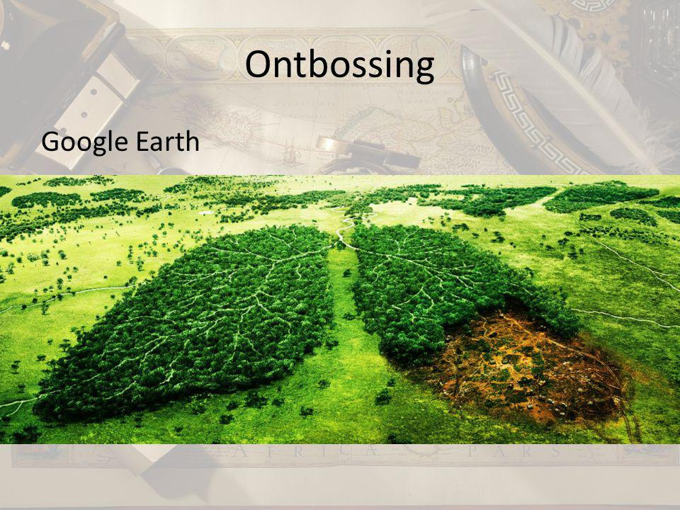 Ontbossing Google Earth