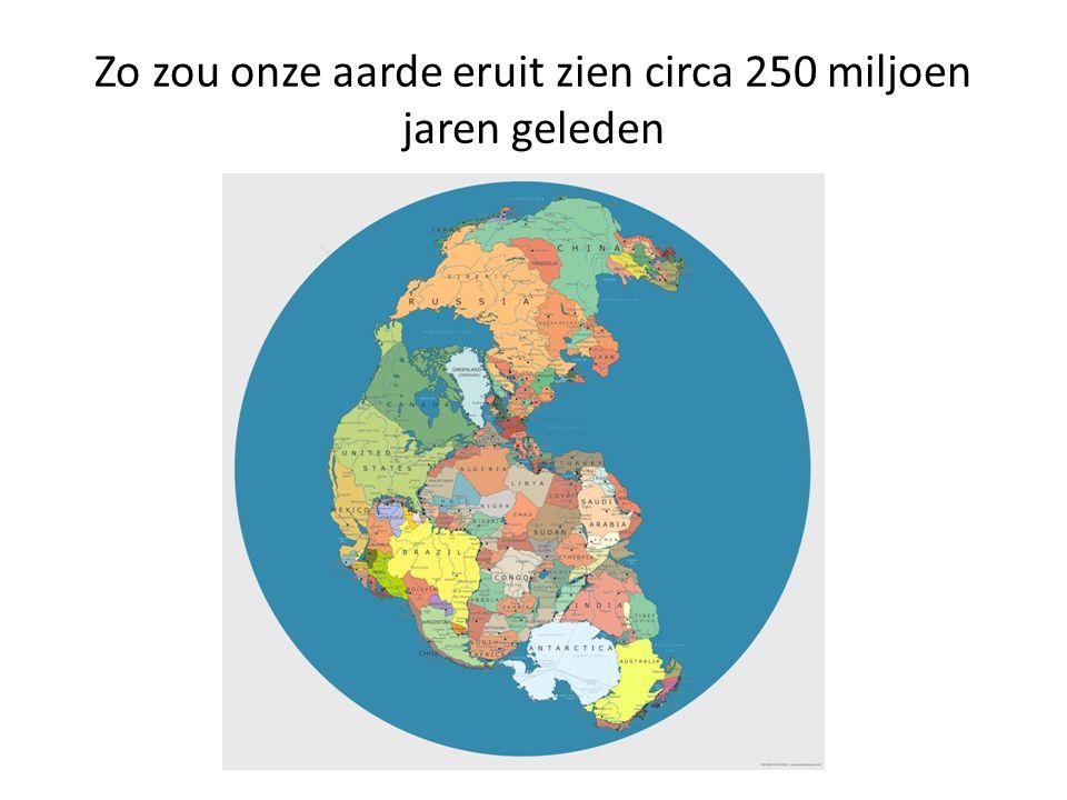Zo zou onze aarde eruit zien circa 250 miljoen jaren geleden
