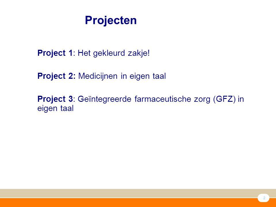 2 ● Project 1: Het gekleurd zakje.