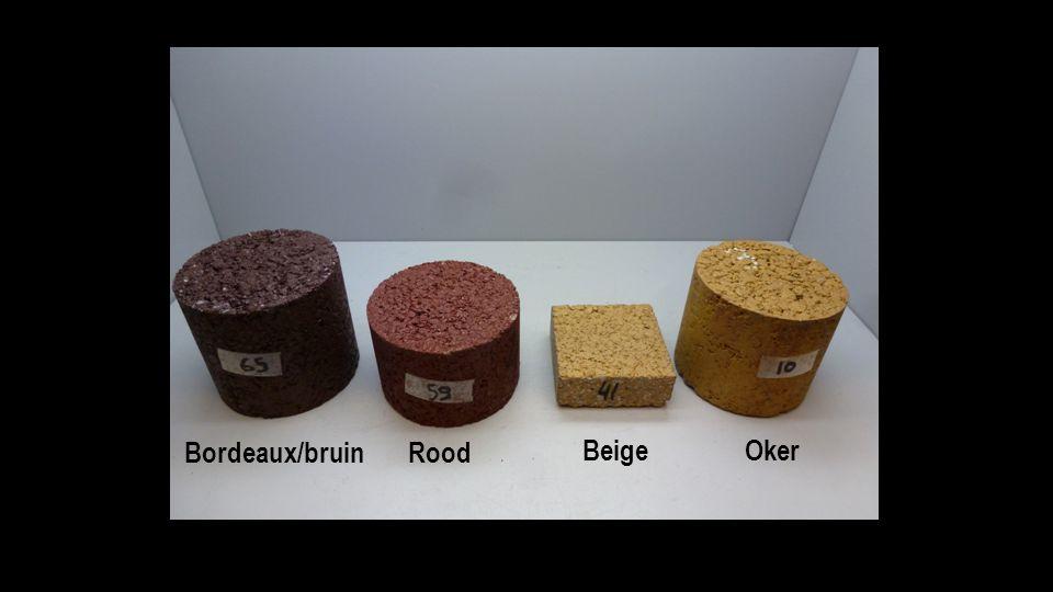 Bordeaux/bruinRood BeigeOker