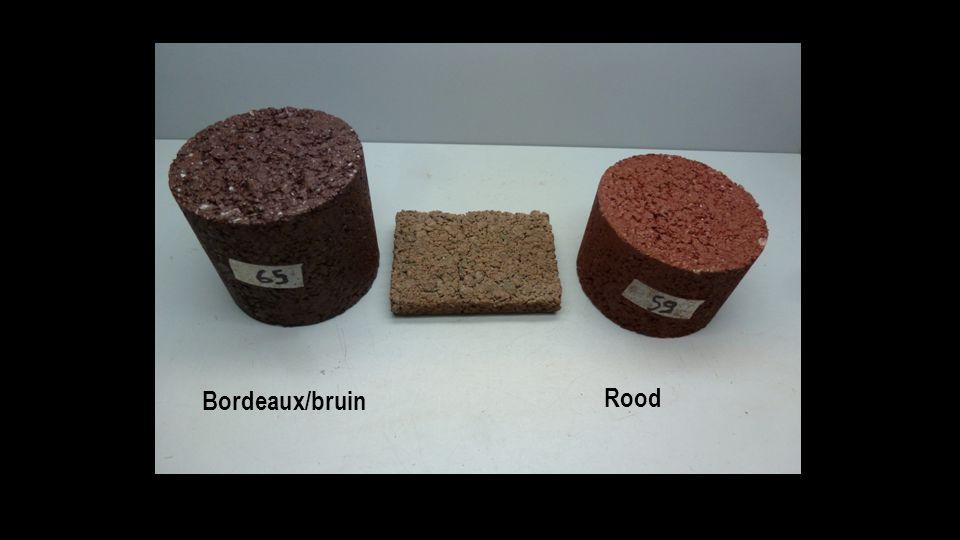 Bordeaux/bruin Rood