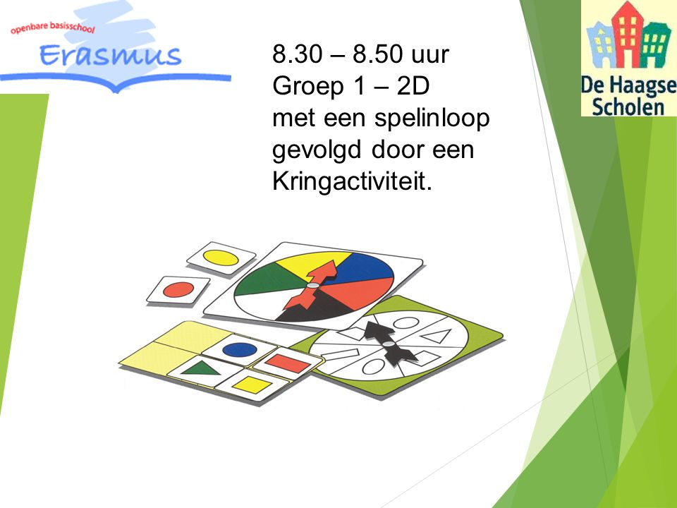 10.00 uur: Groep 8a met een les over: EHBO