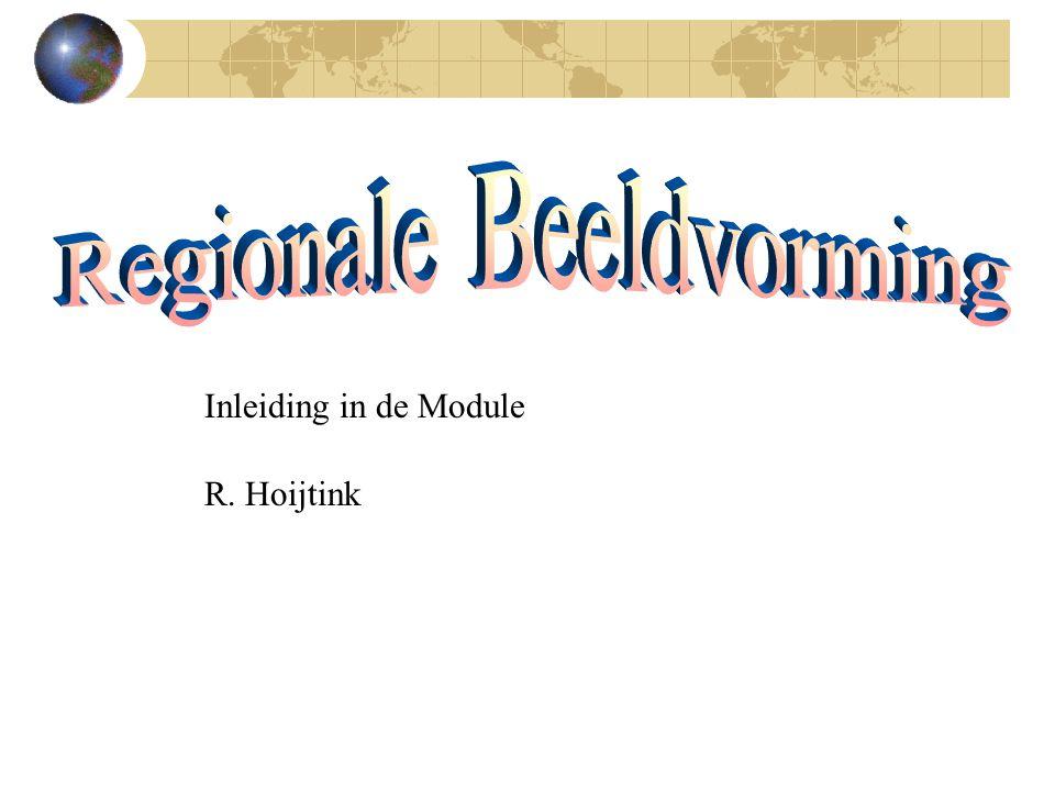 Inleiding in de Module R. Hoijtink