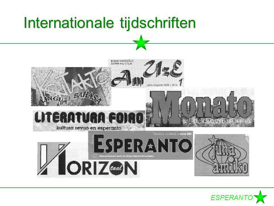 ESPERANTO Internationale tijdschriften