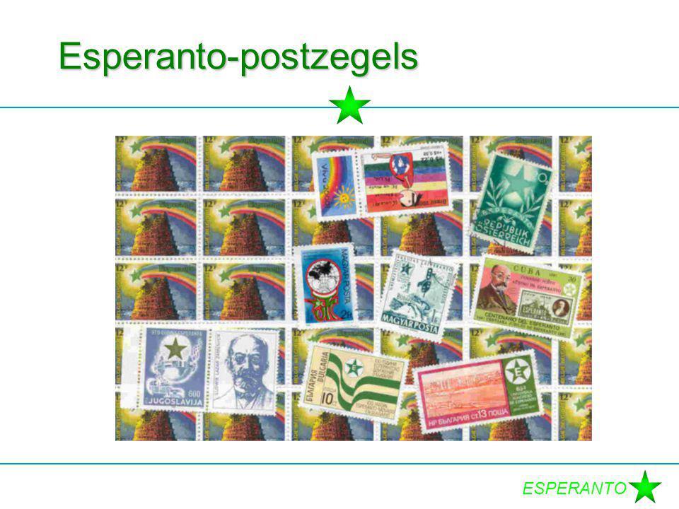 ESPERANTO Esperanto-postzegels